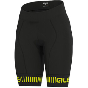 Alé Cycling PRR Strada Shorts Women, black/fluo yellow